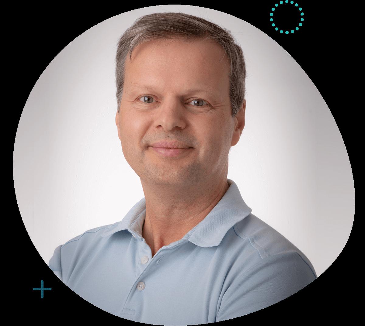 Eric Demers D.O. Ostéopathe et propriétaire de la clinique
